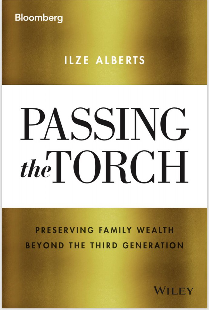 Book cover of passing the torch